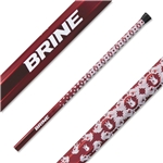 Brine Swizzle Scandium 60 Lacrosse Shaft (Red)