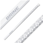Brine Swizzle Scandium 60 Lacrosse Shaft (White)