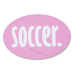 Soccer Pinkcar Magnet