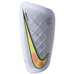 Nike Mercurial Lite 15 Shinguard (White/White/Multicolor)