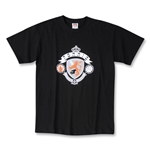 Forrio Shield Logo Soccer T-Shirt (Black)