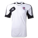adidas USA Sevens Condivo 12 Training Shirt (White/Black)