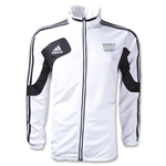 adidas World Rugby Shop Condivo 12 Training Jacket (White/Black)