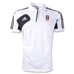 Ohio State Rugby Condivo 12 Polo (White/Black)