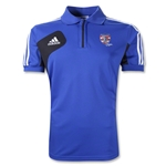 adidas USA Sevens Condivo 12 CL Polo (Royal/Black)