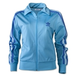 adidas Originals Women's Firebird Track Top (Aqua)