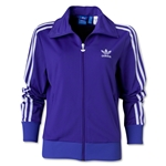 adidas Originals Women's Firebird Track Top 2012 (Pur/Wht)