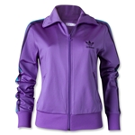 adidas Originals Women's Firebird Track Top (Violet)
