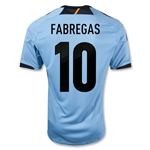 Spain 12/13 FABREGAS Away Soccer Jersey