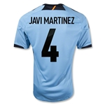 Spain 12/13 MARTINEZ Away Soccer Jersey