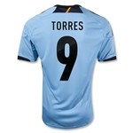 Spain 12/13 TORRES Away Soccer Jersey