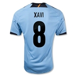 Spain 12/13 XAVI Away Soccer Jersey