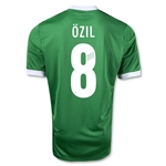 Germany 12/13 OZIL Away Soccer Jersey