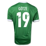 Germany 12/13 GOTZE Away Soccer Jersey