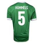 Germany 12/13 HUMMELS Away Soccer Jersey