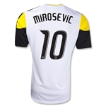 Columbus Crew 2012 MIROSEVIC Away Soccer Jersey