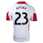 DC United 2013 KITCHEN Secondary Soccer Jersey
