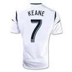 Los Angeles Galaxy 2012 KEANE 7 Jersey de Futbol Local