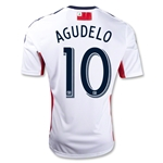 New England Revolution 2013 AGUDELO Secondary Soccer Jersey