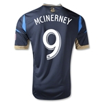 Philadelphia Union 2013 MCINERNEY Authentic Primary Soccer Jersey