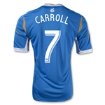 Philadelphia Union 2013 CARROLL Authentic Secondary Soccer Jersey