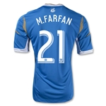 Philadelphia Union 2013 M.FARFAN Secondary Soccer Jersey