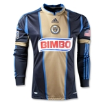Philadelphia Union 2013 Long Sleeve Authentic Primary Soccer Jersey