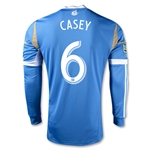 Philadelphia Union 2014 CASEY Authentic LS Secondary Soccer Jersey