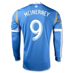 Philadelphia Union 2014 MCINERNEY Authentic LS Secondary Soccer Jersey
