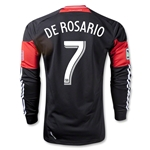 DC United 2013 DE ROSARIO LS Authentic Primary Soccer Jersey