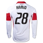 DC United 2014 HAMID LS Authentic Secondary Soccer Jersey