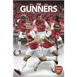 Arsenal 11/12 Players Poster