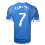 Philadelphia Union 2014 CARROLL Replica Secondary Soccer Jersey