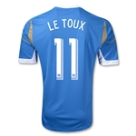 Philadelphia Union 2014 LE TOUX Secondary Replica Soccer Jersey