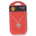 Manchester United Silver Plated Necklace