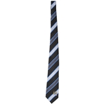 Manchester City Satin Stripe Silk Tie