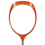 Maverik Base Goalie Unstrung Lacrosse Head (Orange)