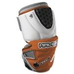 Maverik Rome Mid Lacrosse Arm Pads (Orange)