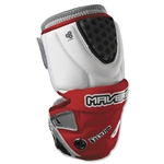 Maverik Rome Mid Lacrosse Arm Pads (Red)