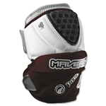 Maverik Rome Defense Lacrosse Arm Pads (Maroon)