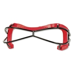 Under Armour Illusion Lacrosse Goggles (Red)