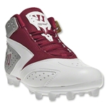 Warrior 2nd Degree Speed Lacrosse Cleats (Red)