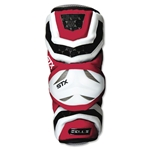 STX Cell II Lacrosse Arm Guards (Red)