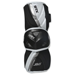 STX Jolt Lacrosse Arm Guards (White)