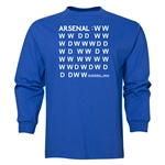 Arsenal The Invincibles Undeafeated LS T-Shirt (Royal)
