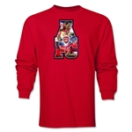 Arsenal AFC Celebration LS T-Shirt (Red)