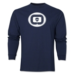 Arsenal Emirates Stadium LS T-Shirt (Navy)