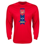 Arsenal The FA Cup Final Long Sleeve T-Shirt (Red)