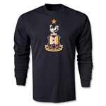 Bradford City LS Crest T-Shirt (Black)