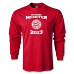 Bayern Munich 2013 LS Deutscher Meister T-Shirt (Red)